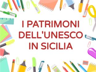 I PATRIMONI DELL'UNESCO IN SICILIA by Rosa Magrì