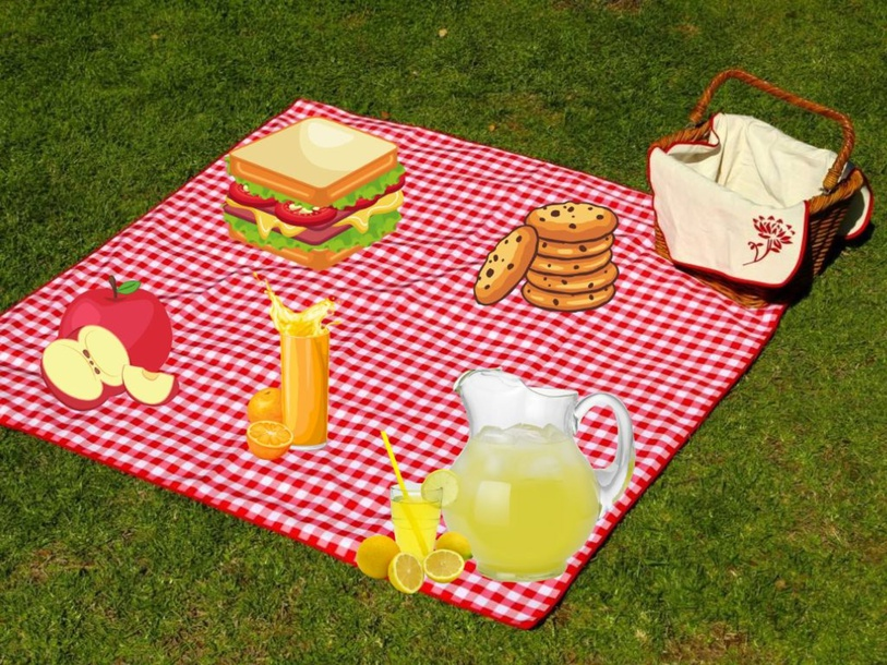 I want a picnic  by Maribel Rojas Camargo