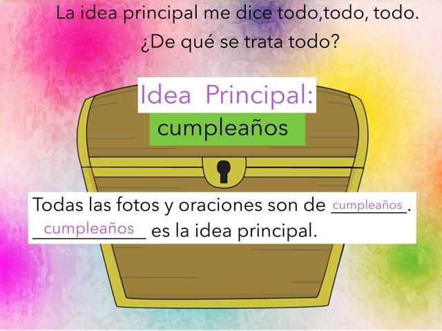 Idea Principal y Detalles by Rosalva Correa