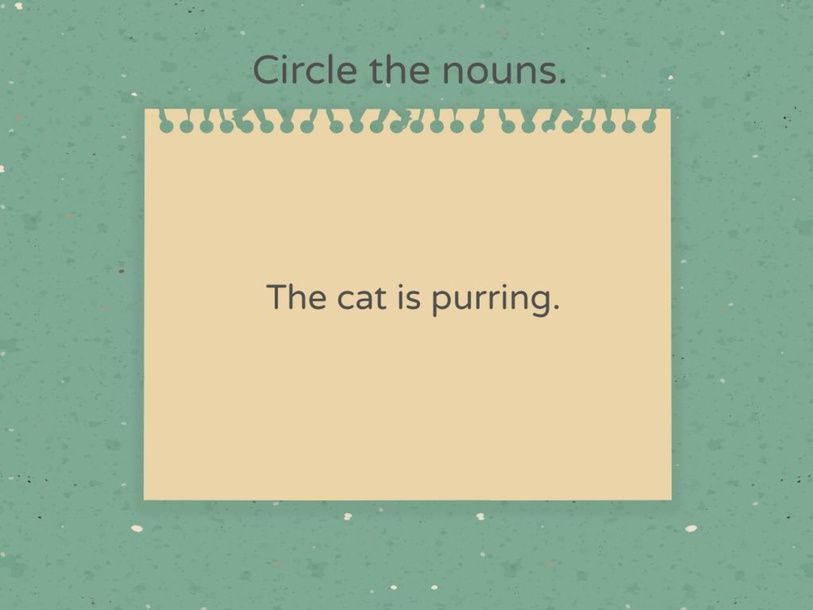 Identify the nouns by Wong Hui Ling