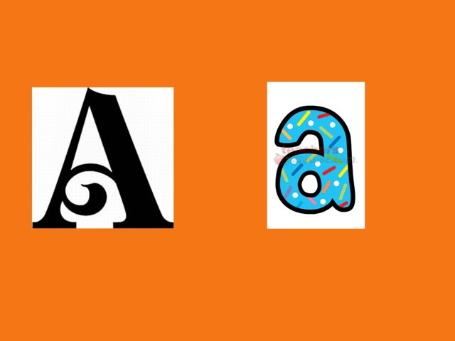 Identifying Letters by Kathryn brown