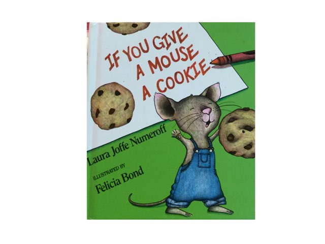 """""""If You Give a Mouse a Cookie"""" Wh- questions by Amanda Merrill"""