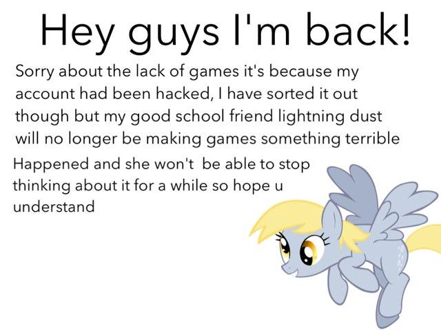 I'm Back And Important Stuff by Fluffy Da rabbit
