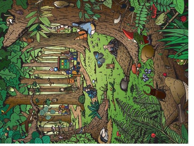 In Het Bos by Gino Vanherweghe