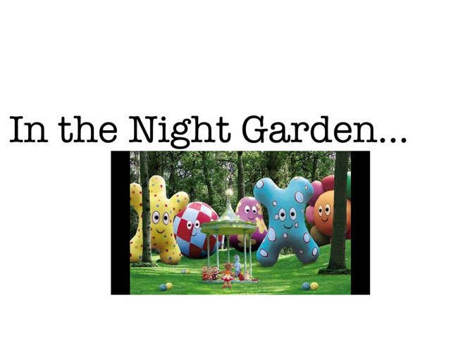In the Night Garden by Rebecca Read