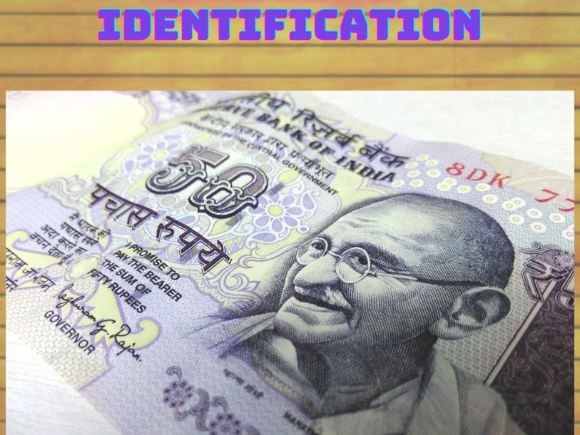 Indian Money- Identification by Lavanya Sriram