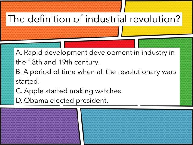 Industrial Revolution by Jordan halliday