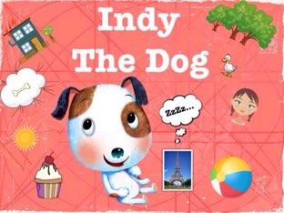 Indy The Dog by Mayla Grossmann