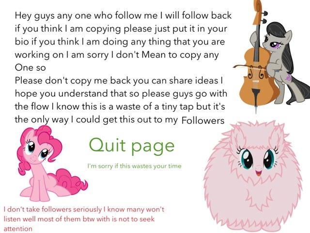Information For Followers by Fluffy Da rabbit