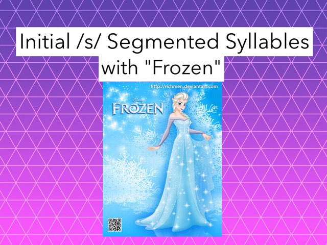Initial /s/ Segmented Syllables by Gigi Lough