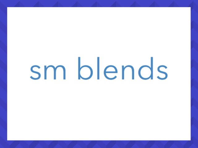 Initial sm blends by Leslee DuPertuis