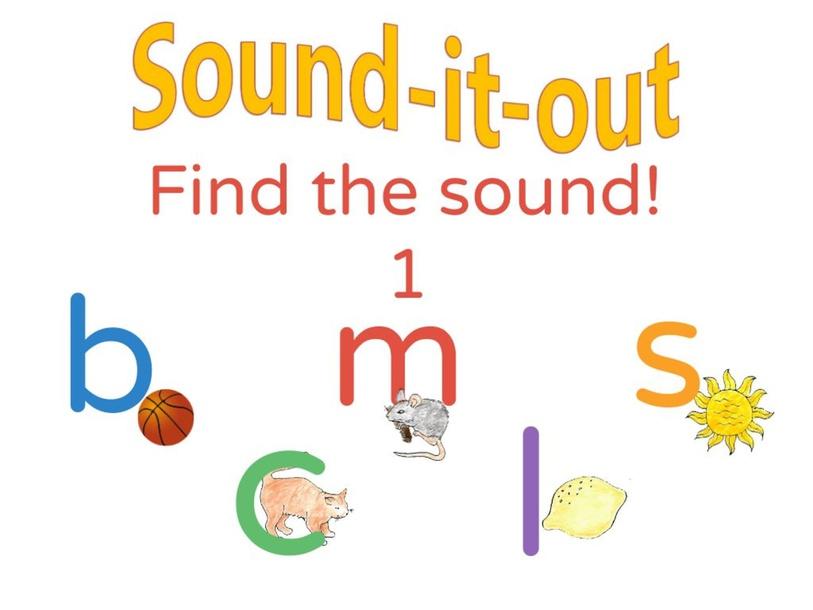 Initial sounds activity b,c,m,l,s by Joanne Arrowsmith
