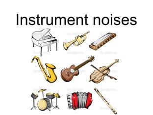 Instrument Noises by Belinda Job