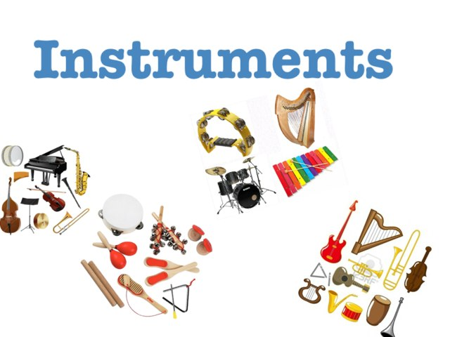 Instruments  by Sophie Game