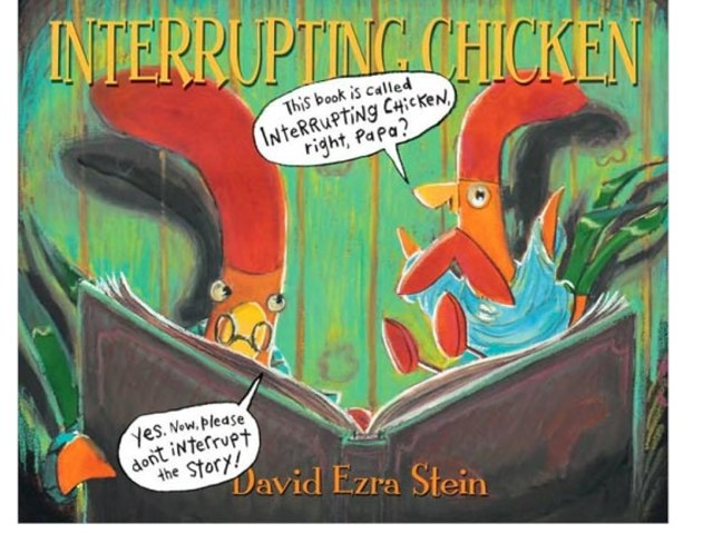 Interrupting Chicken by Laurie Arnez