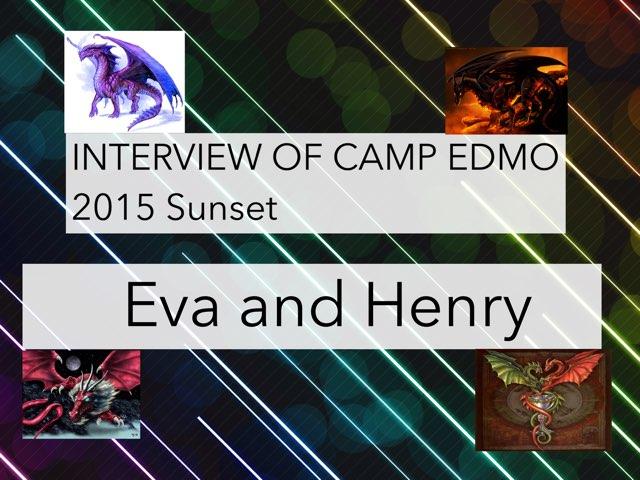 Interview Of Camp EDMO by Edventure More -  Conrad Guevara