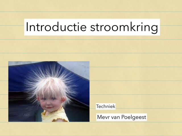 Intro Stroomkring by Annet vanPoelgeest