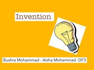 Invention by Bushra DF3
