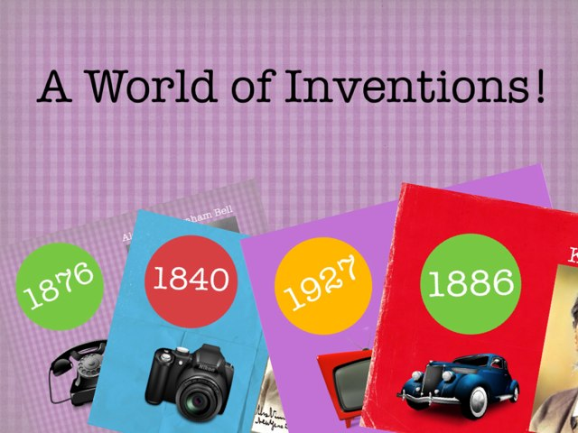 Inventions! by Patricia Rodriguez