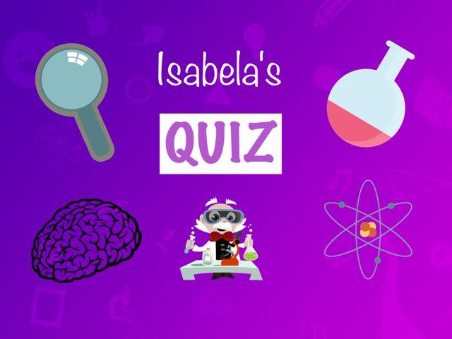 Isabela's Quiz by Daragh Mcmunn