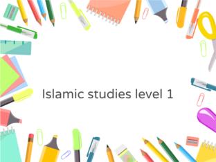 Islamic level 1 by Dr.Reda Abdelgalil