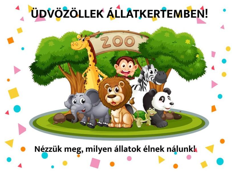 Ismerd meg az állatkertem! by Zita Raport