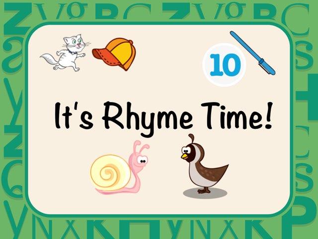 It's Rhyme Time! by Michele Karszen