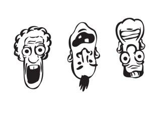 It's The People That Look Like Dicks Hero Team by Joshua MURPHY