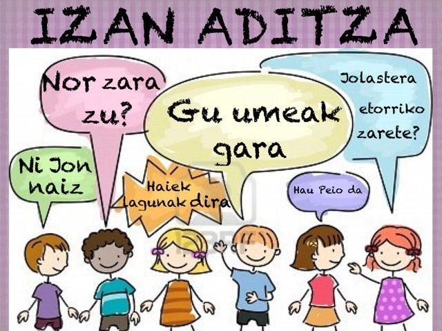 Izan aditza by Almu Molina