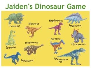 Jaiden's Dinosaurs by Jessica Preisig