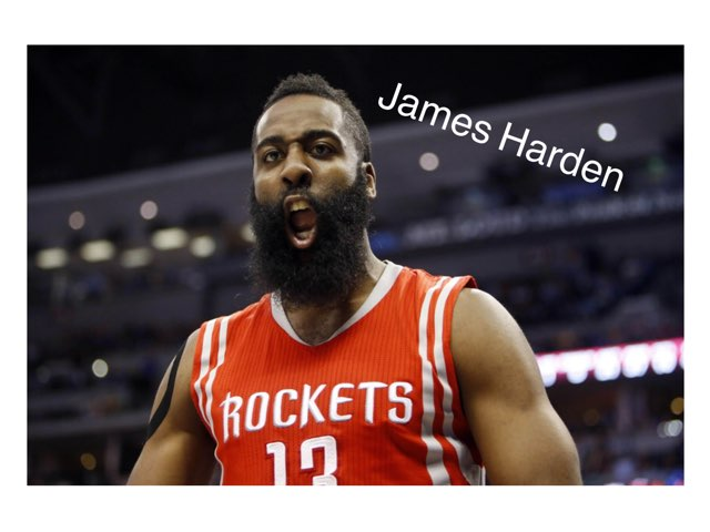 James Harden by Liam Heron