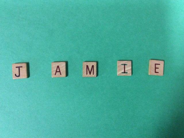 Jamie's Name Game by Carol Vieira