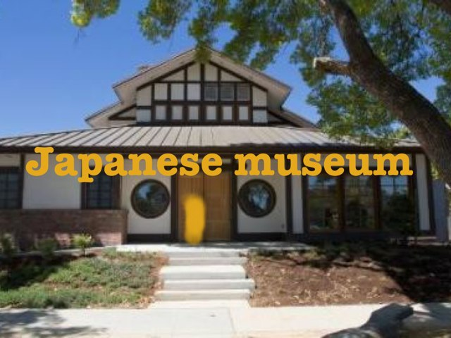 Japanese Museum  by Sparkly Miller