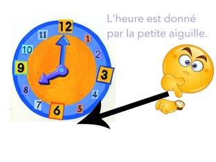 J'apprends l'heure by Geneviève Beaudoin