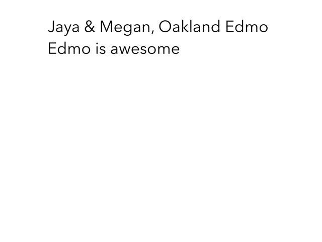 Jaya And Megan Game by Edventure More -  Conrad Guevara