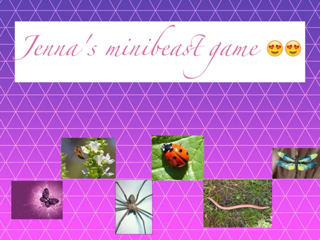 Jenna's Minibeast Game by Emma Hinawski