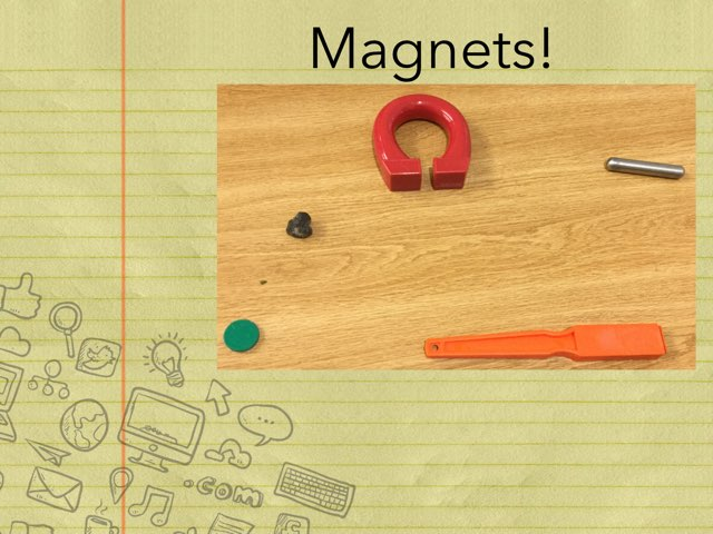 Jenni's Magnet Game by Frances Chapin