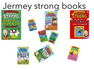 Jeremy Strong Books by mcpake family