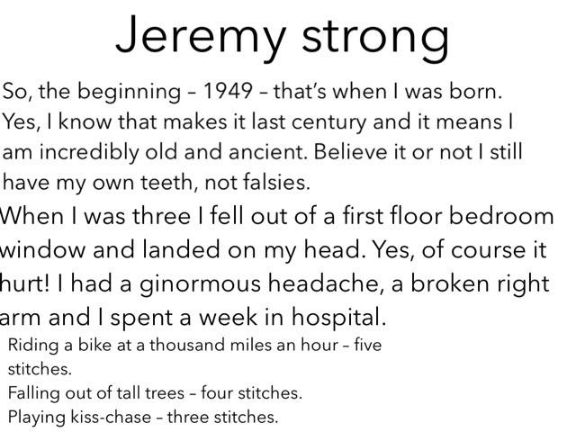 Jeremy Strong  by mcpake family