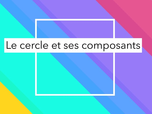 Jeu du Cercle  by Pierre Voltzenlogel