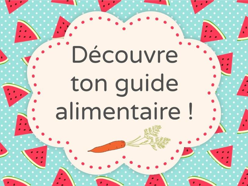 Jeunesse-Le guide alimentaire canadien by SAAC FSAA Université Laval