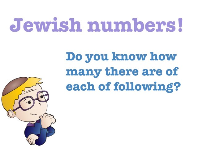 Jewish Numbers by Chanania Engelsman