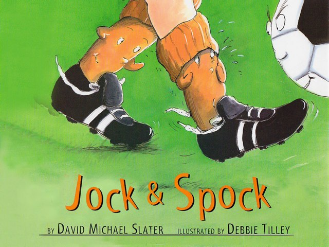 Jock and Spock by David Michael Slater