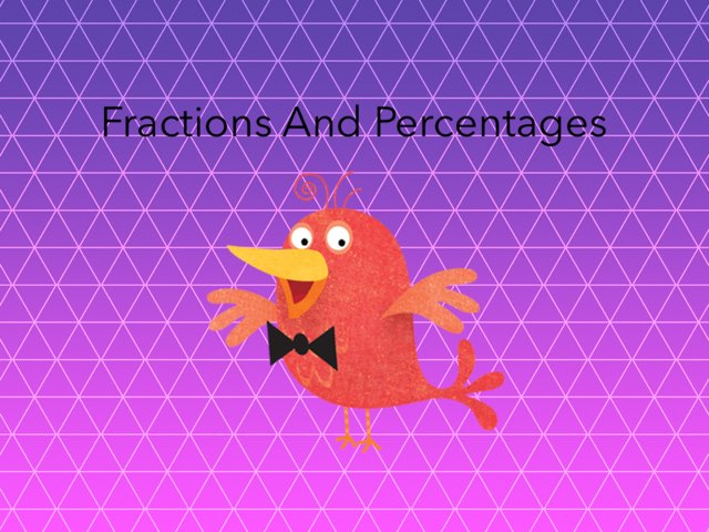 Jodi's Fraction And Percentages Game by Sandford Hill