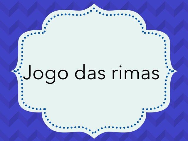 Jogo Das Rimas by Larissa Caldeira