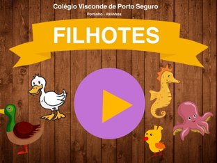 Jogo De Encaixar - Filhotes by Portinho Valinhos