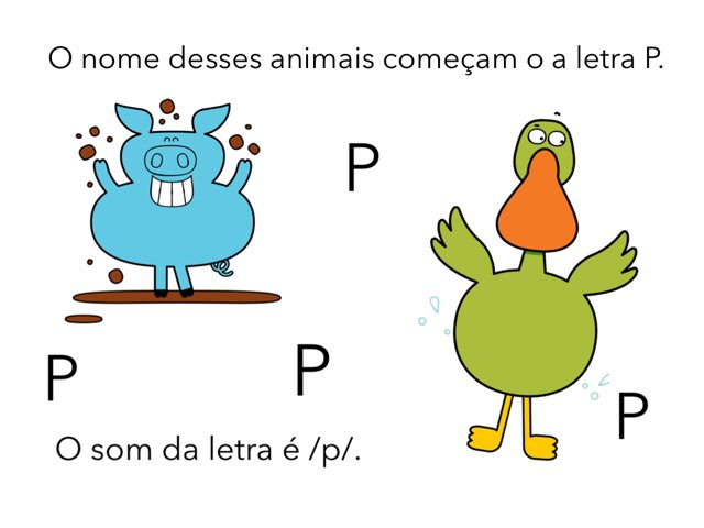 Jogo do P e B by Silvia hitos