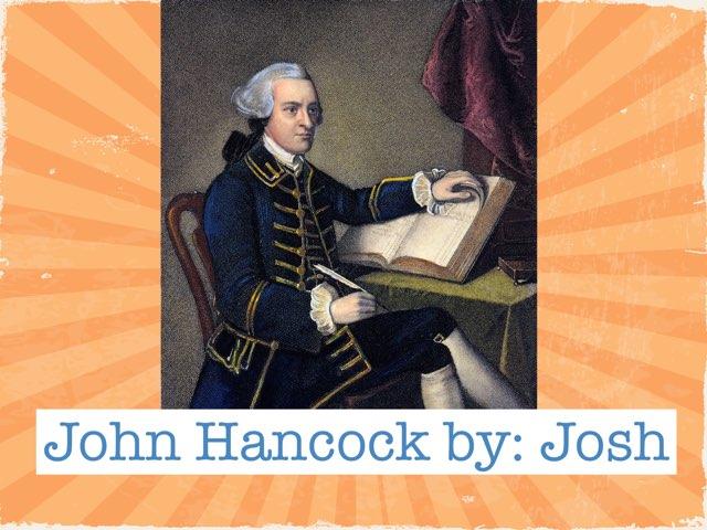 John Hancock by Danielle Moore
