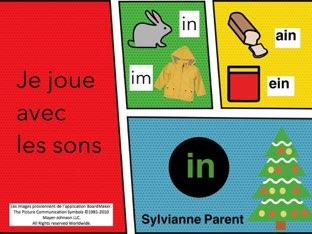Jouons Avec Les Sons : le Son In Copy  by Sylvianne Parent
