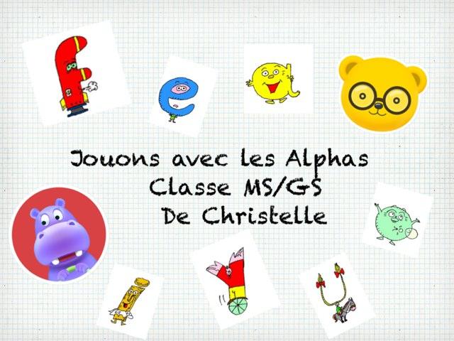 Jouons avec Les Alphas by Christelle Victorin